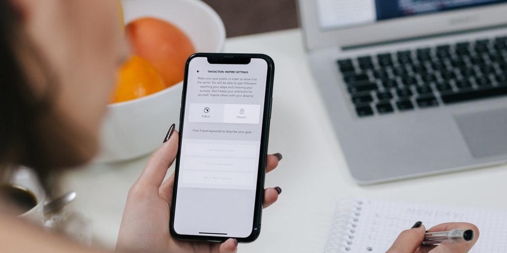 Expérience utilisateur sur appareil mobile