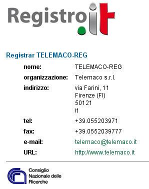 Domaine Service TMCIT - Enregistrement de Domaine International
