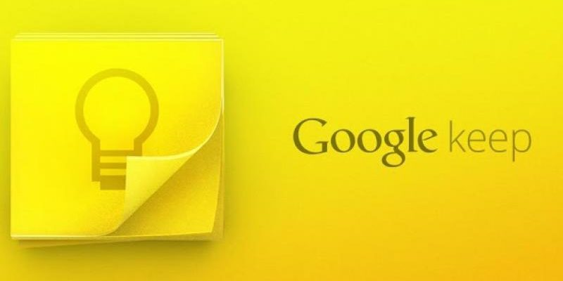 Aide Google Keep