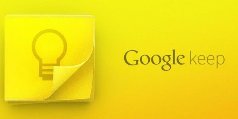 Aide Google Keep